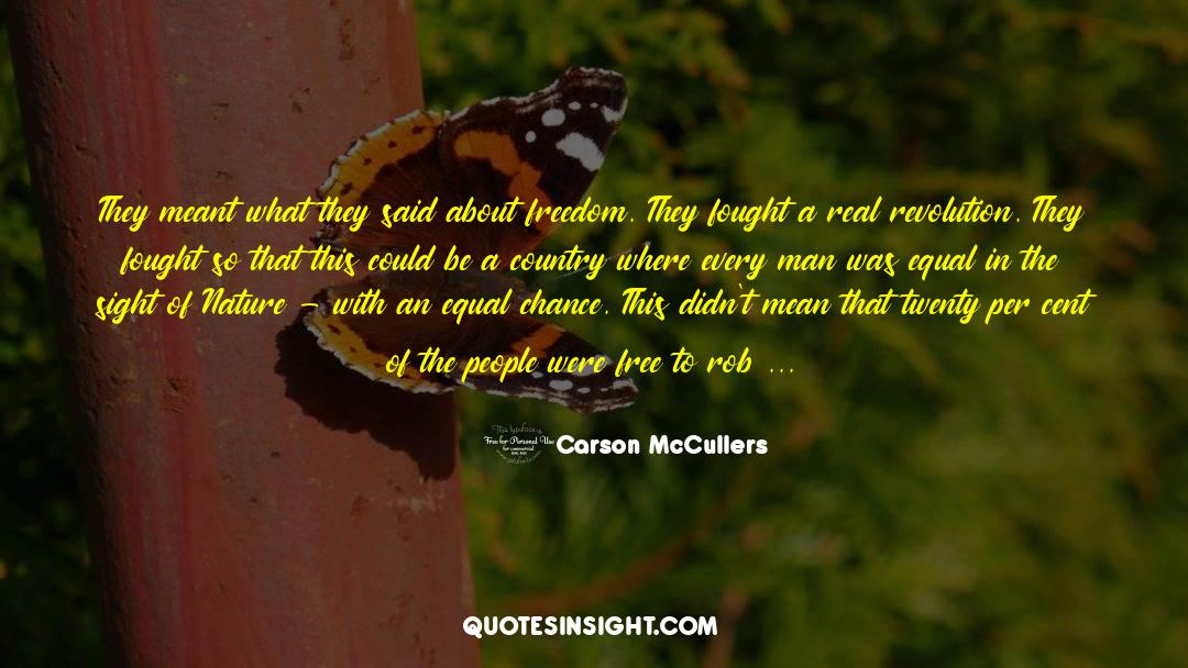 Real Friend quotes by Carson McCullers