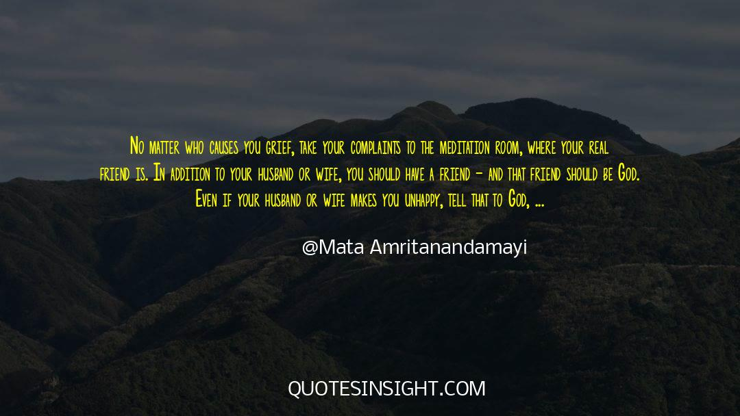 Real Friend quotes by Mata Amritanandamayi