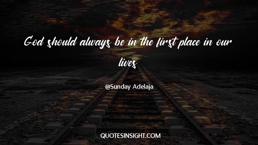 Reality Of Life quotes by Sunday Adelaja