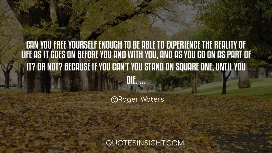 Reality Of Life quotes by Roger Waters
