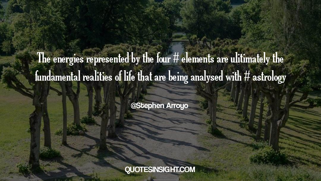 Reality Of Life quotes by Stephen Arroyo