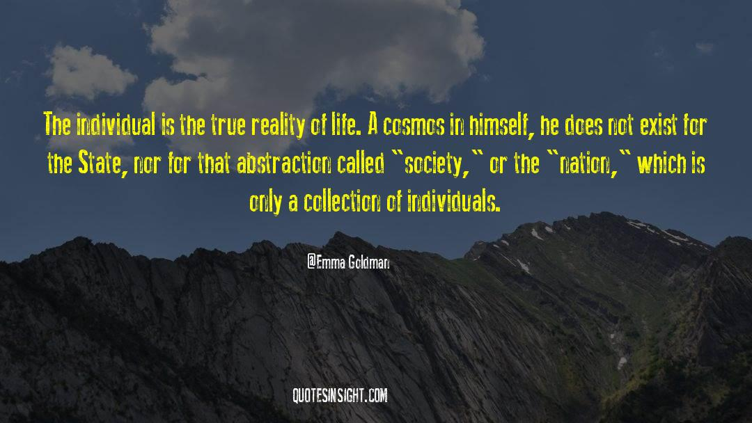 Reality Of Life quotes by Emma Goldman