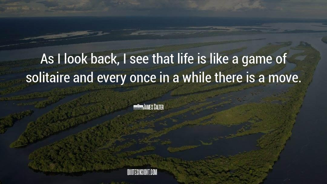 Reality Of Life quotes by James Salter