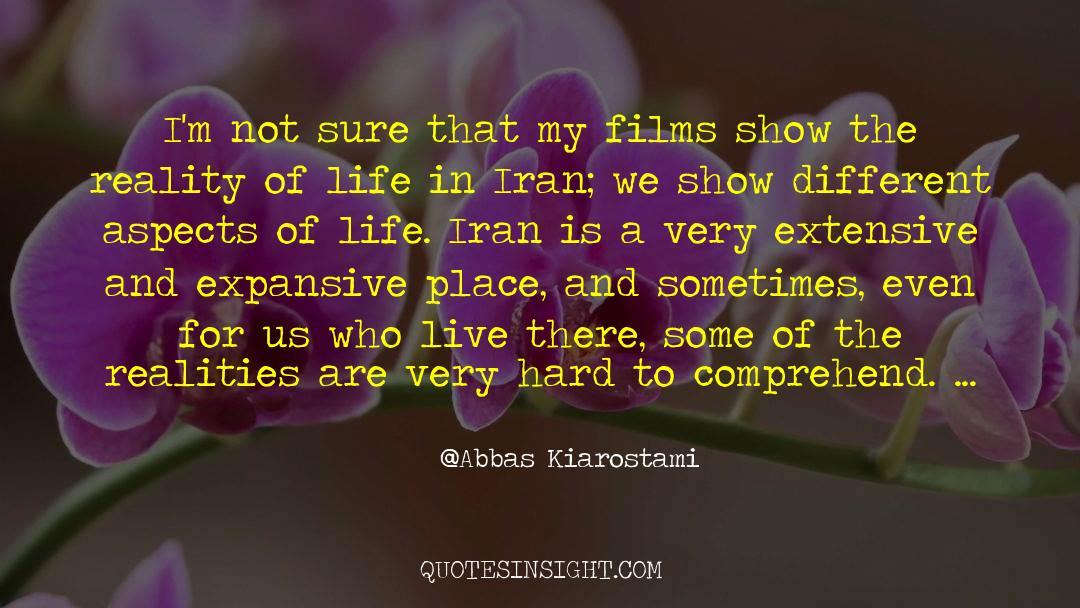 Reality Of Life quotes by Abbas Kiarostami