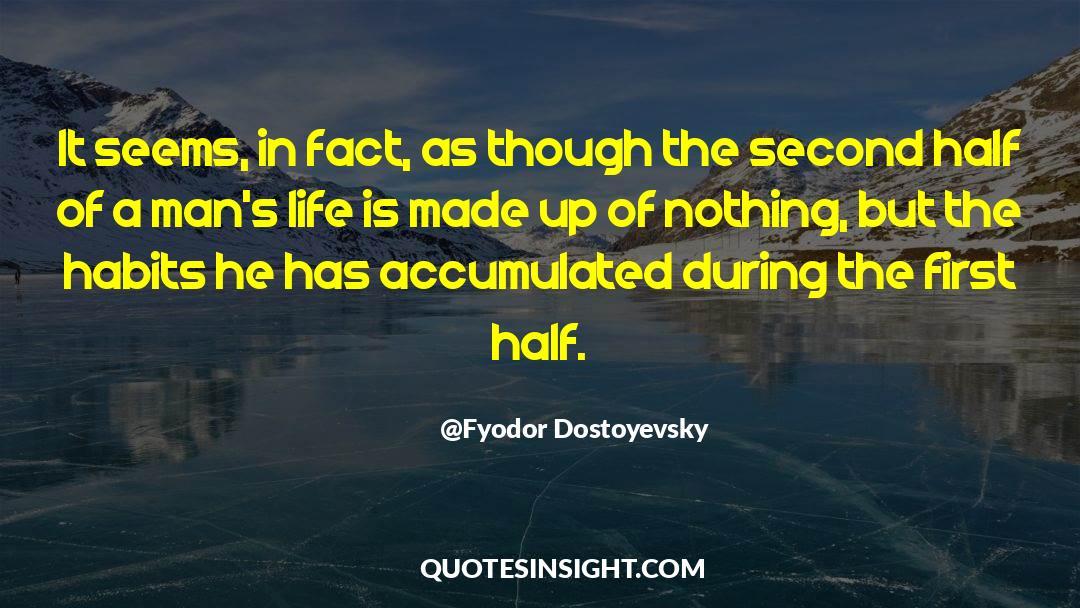Reality Of Life quotes by Fyodor Dostoyevsky