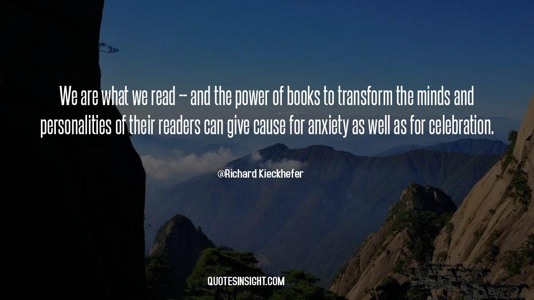 Reality Of Life quotes by Richard Kieckhefer