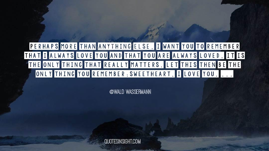 Reality Of Life quotes by Wald Wassermann