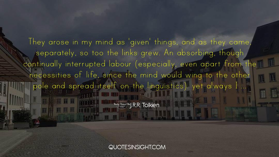 Reality Of Life quotes by J.R.R. Tolkien