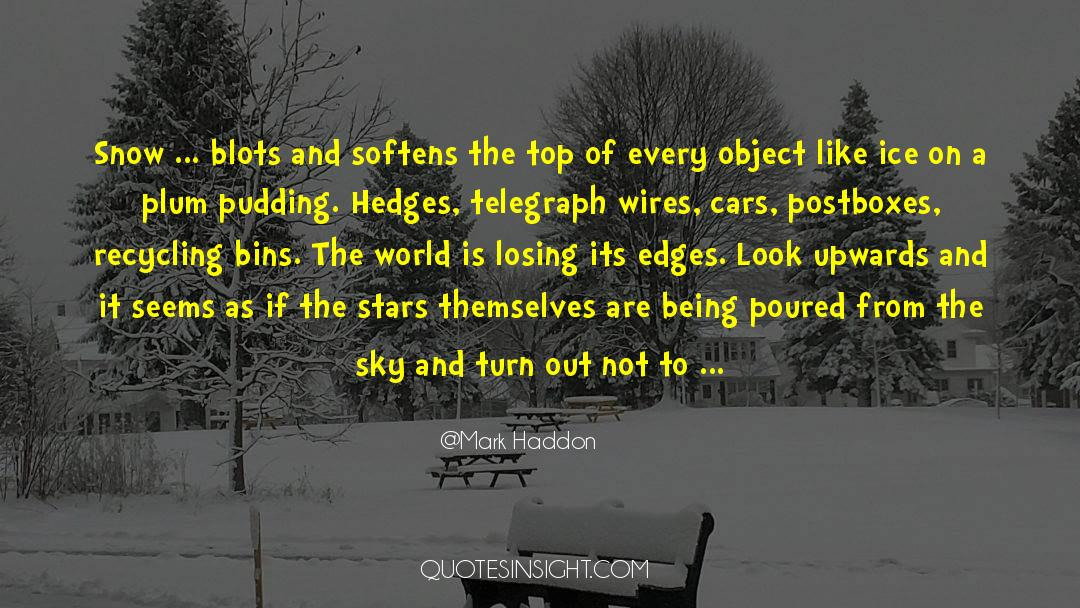 Recycling quotes by Mark Haddon