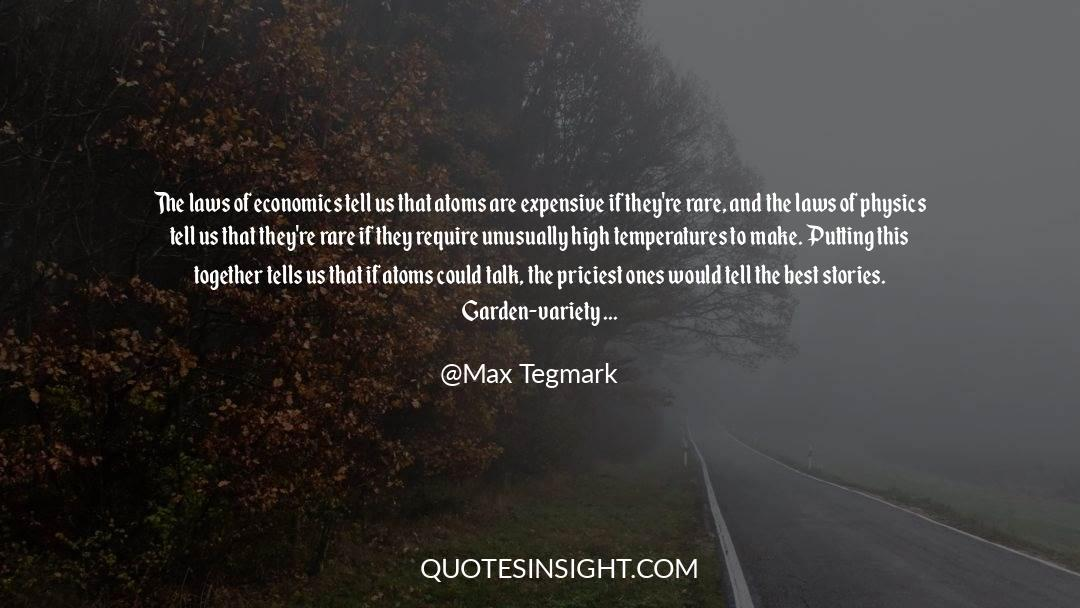Recycling quotes by Max Tegmark