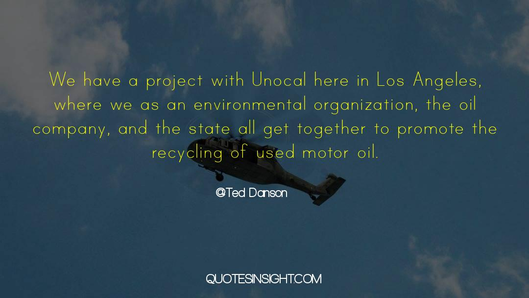 Recycling quotes by Ted Danson