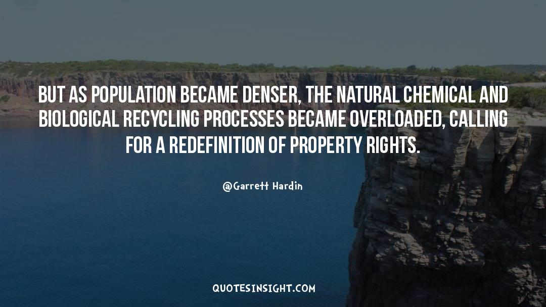 Recycling quotes by Garrett Hardin