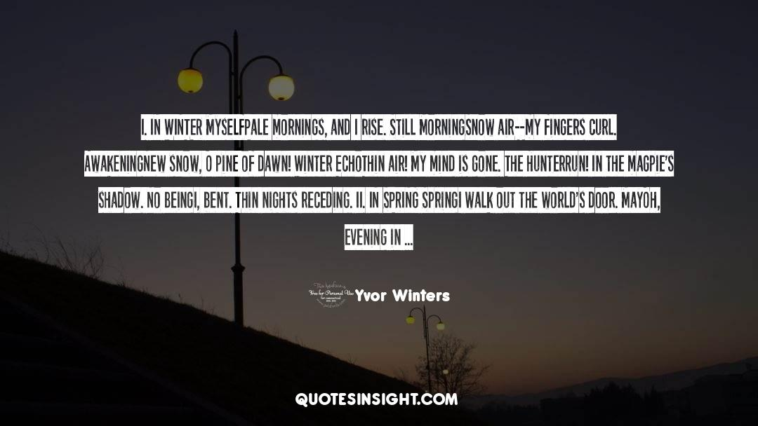 Red Vs Blue quotes by Yvor Winters