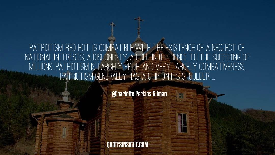 Red Vs Blue quotes by Charlotte Perkins Gilman