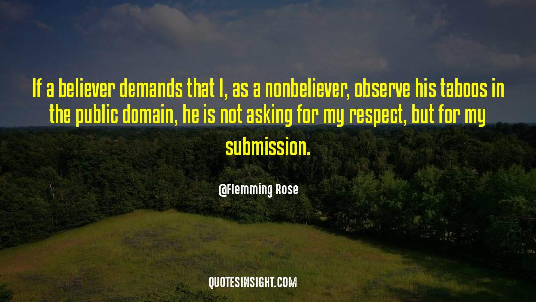 Respect quotes by Flemming Rose