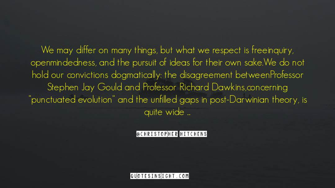 Respect quotes by Christopher Hitchens