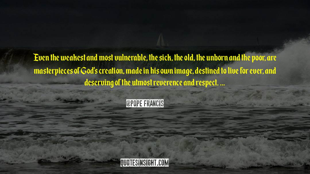 Respect quotes by Pope Francis