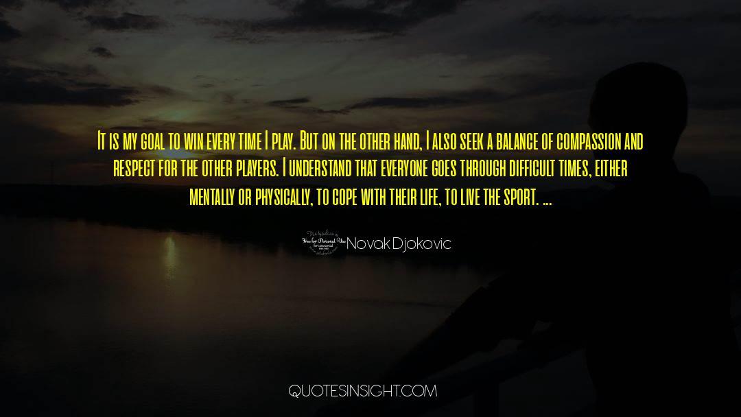 Respect quotes by Novak Djokovic