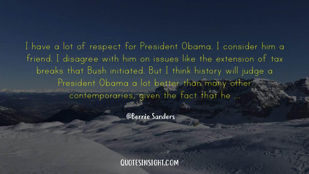 Respect quotes by Bernie Sanders