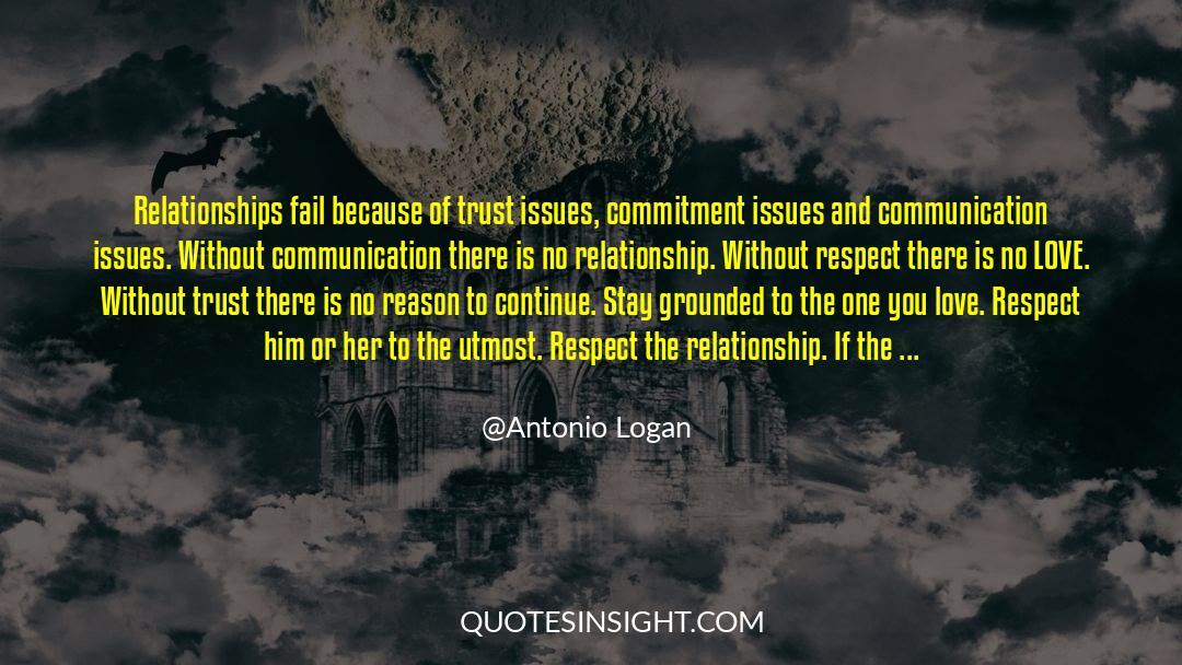 Respect quotes by Antonio Logan