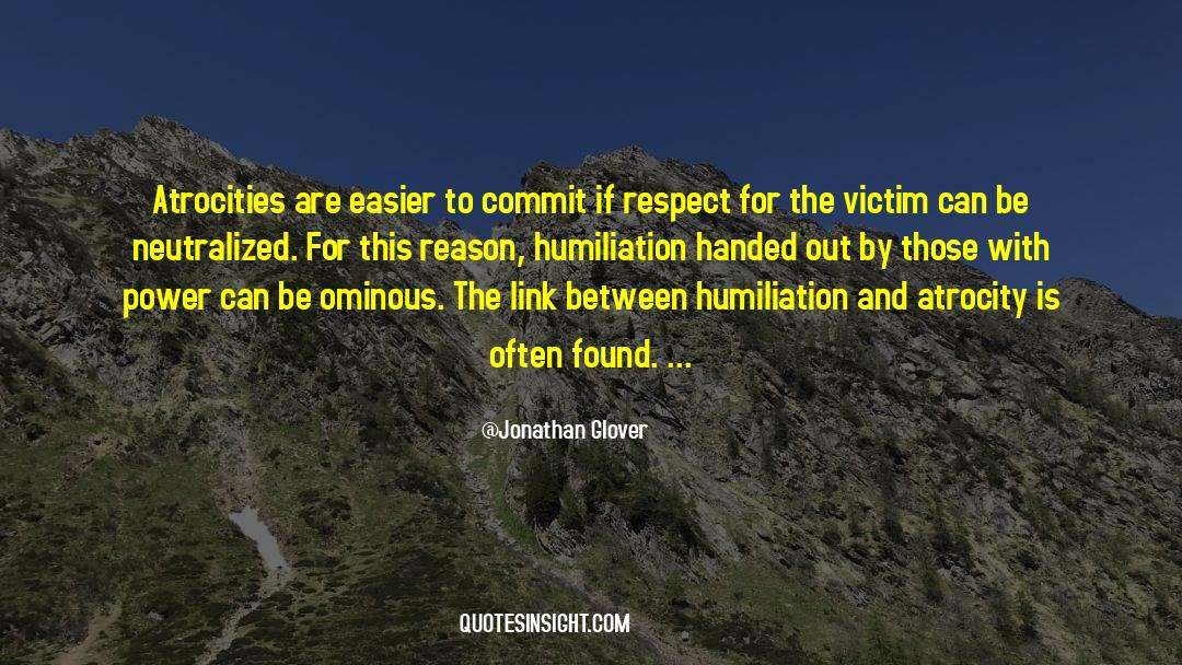 Respect quotes by Jonathan Glover