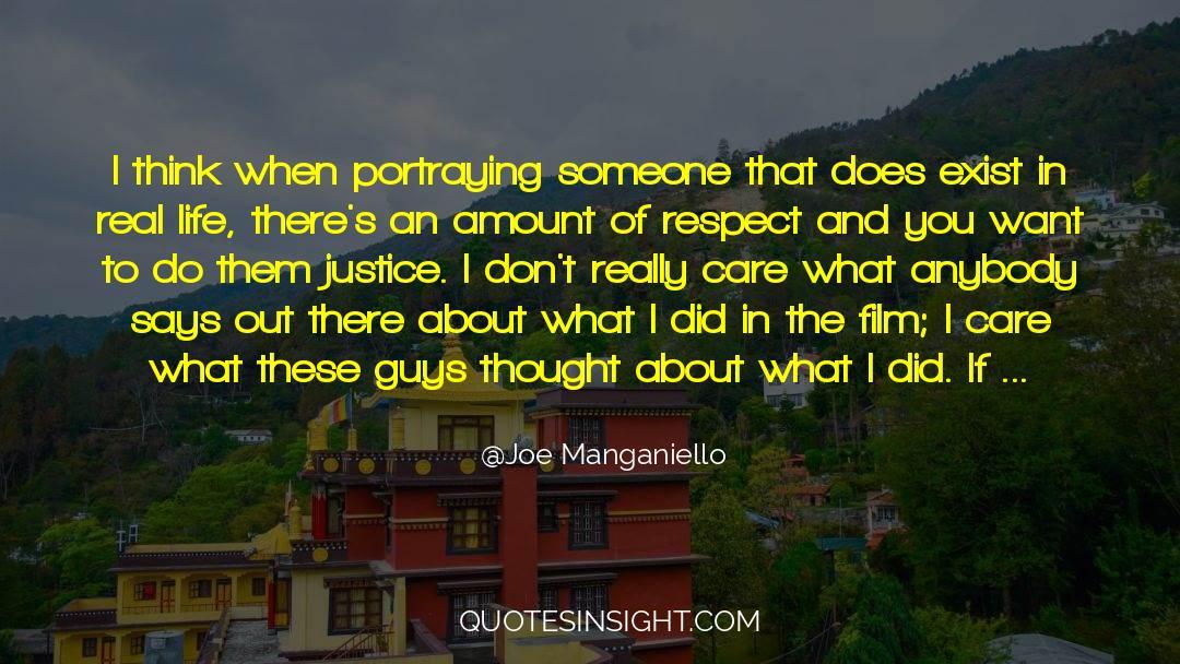 Respect quotes by Joe Manganiello