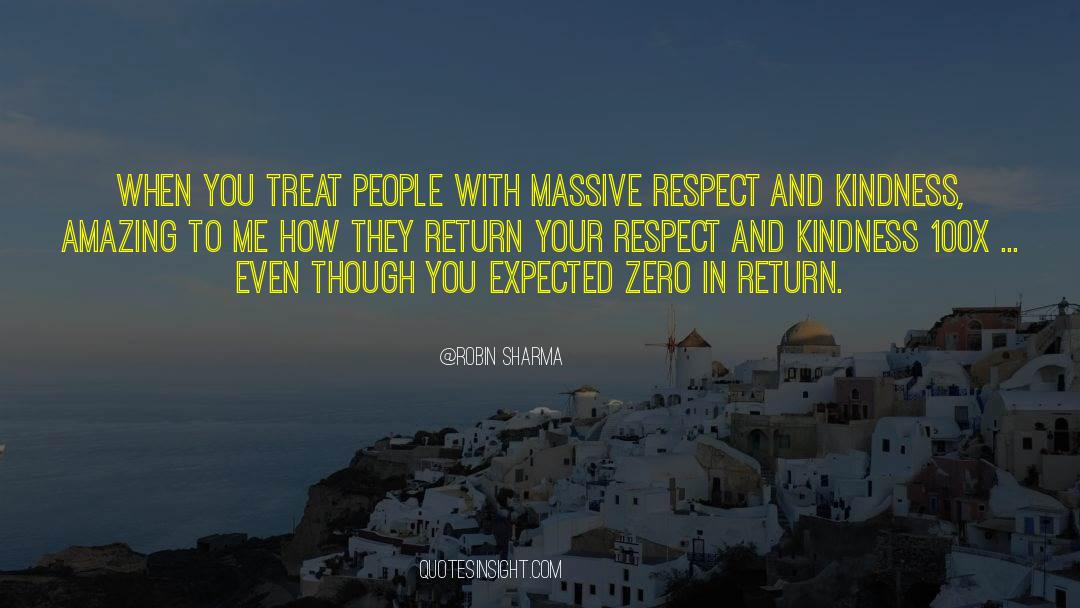 Respect quotes by Robin Sharma