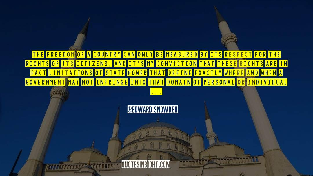 Respect quotes by Edward Snowden