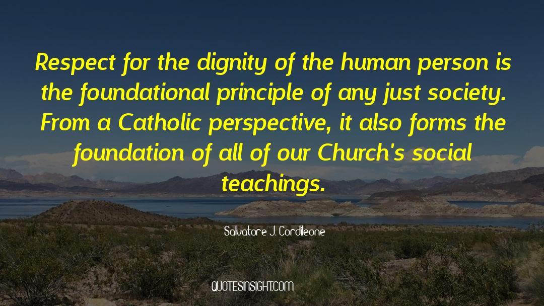 Respect quotes by Salvatore J. Cordileone
