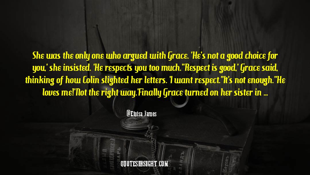 Respect quotes by Eloisa James