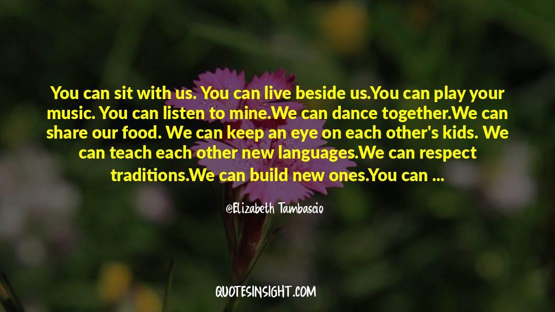 Respect quotes by Elizabeth Tambascio