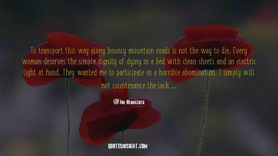 Respect quotes by Joe Niemczura