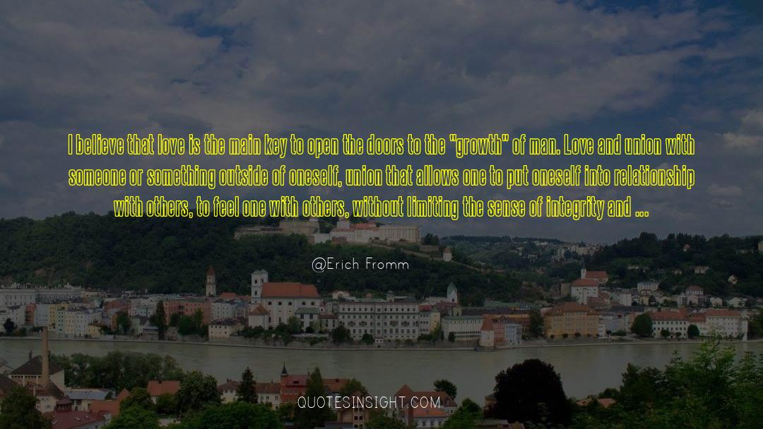 Respect quotes by Erich Fromm