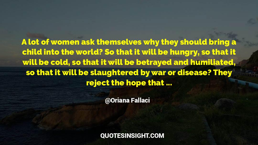 Respect quotes by Oriana Fallaci
