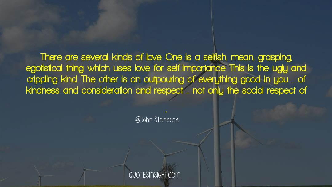 Respect quotes by John Steinbeck