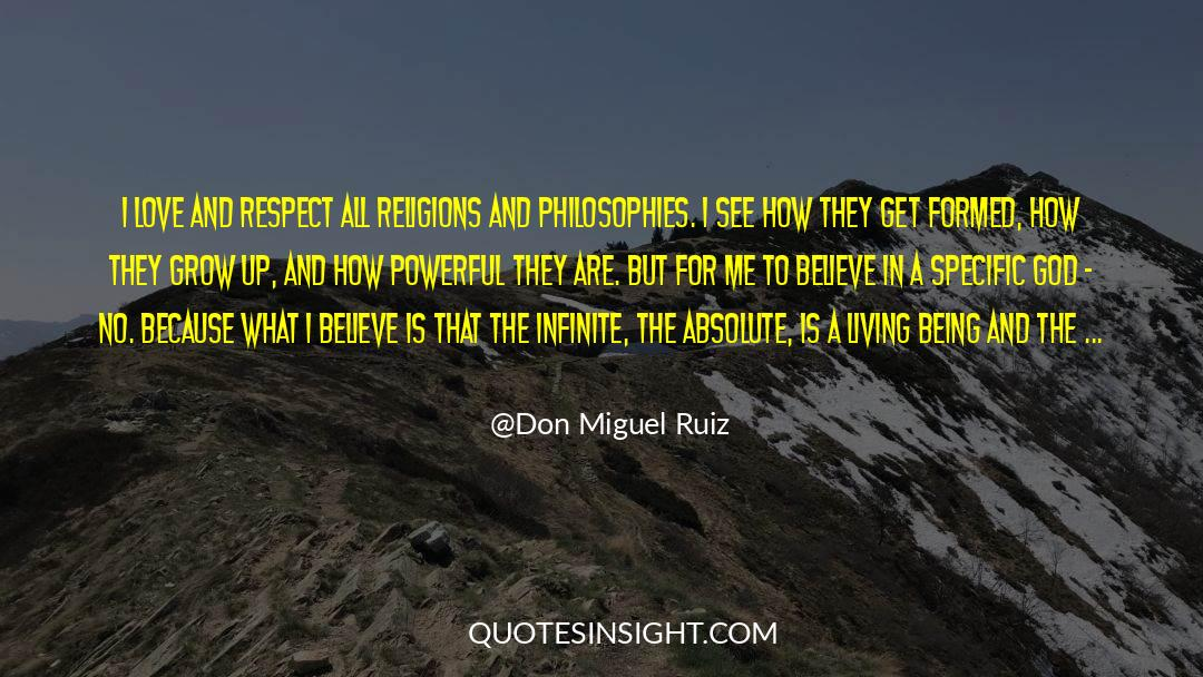 Respect quotes by Don Miguel Ruiz
