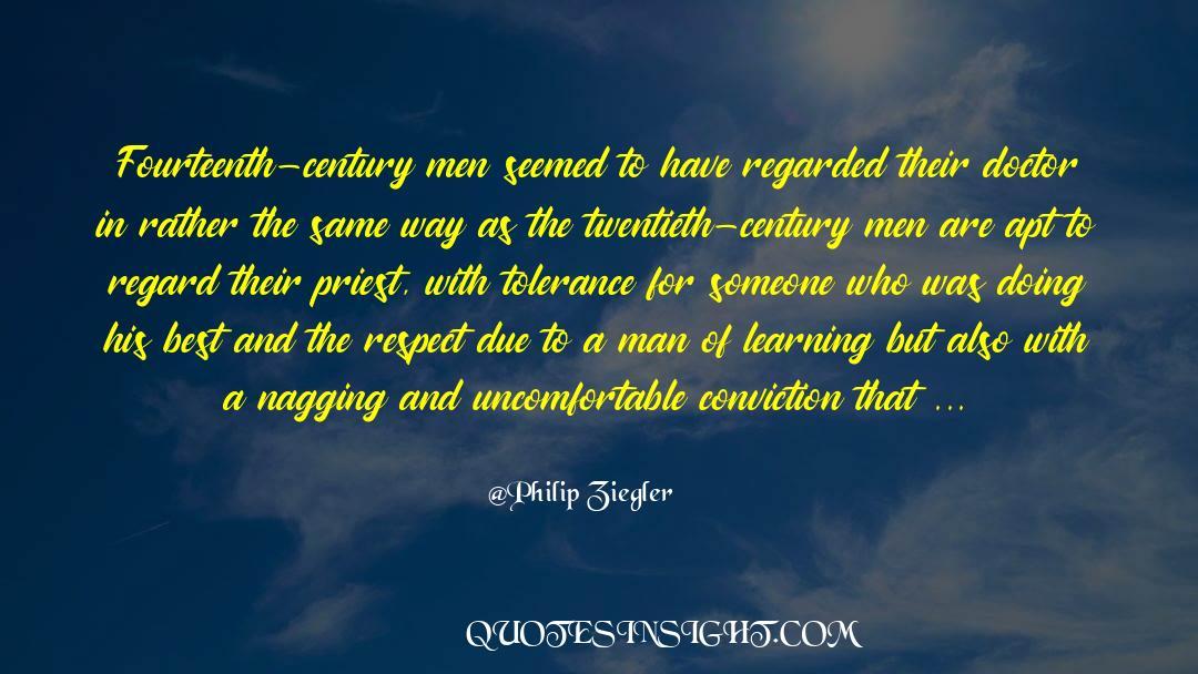 Respect quotes by Philip Ziegler