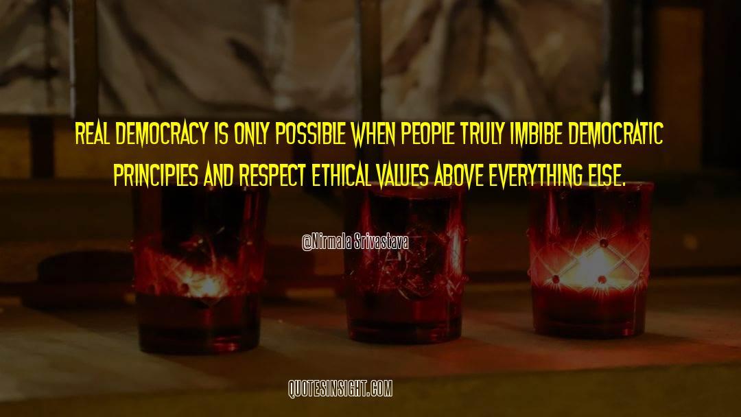 Respect quotes by Nirmala Srivastava