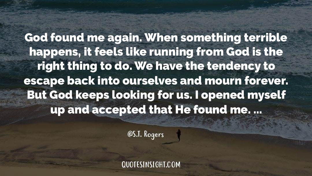 Running Up That Hill quotes by S.T. Rogers