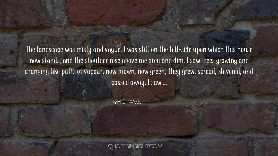 Running Up That Hill quotes by H.G. Wells