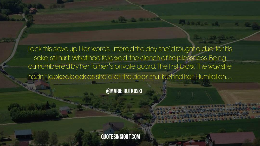 Running Up That Hill quotes by Marie Rutkoski