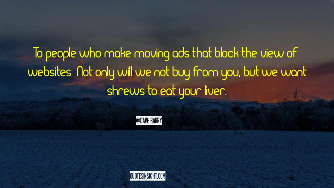 Shrews quotes by Dave Barry
