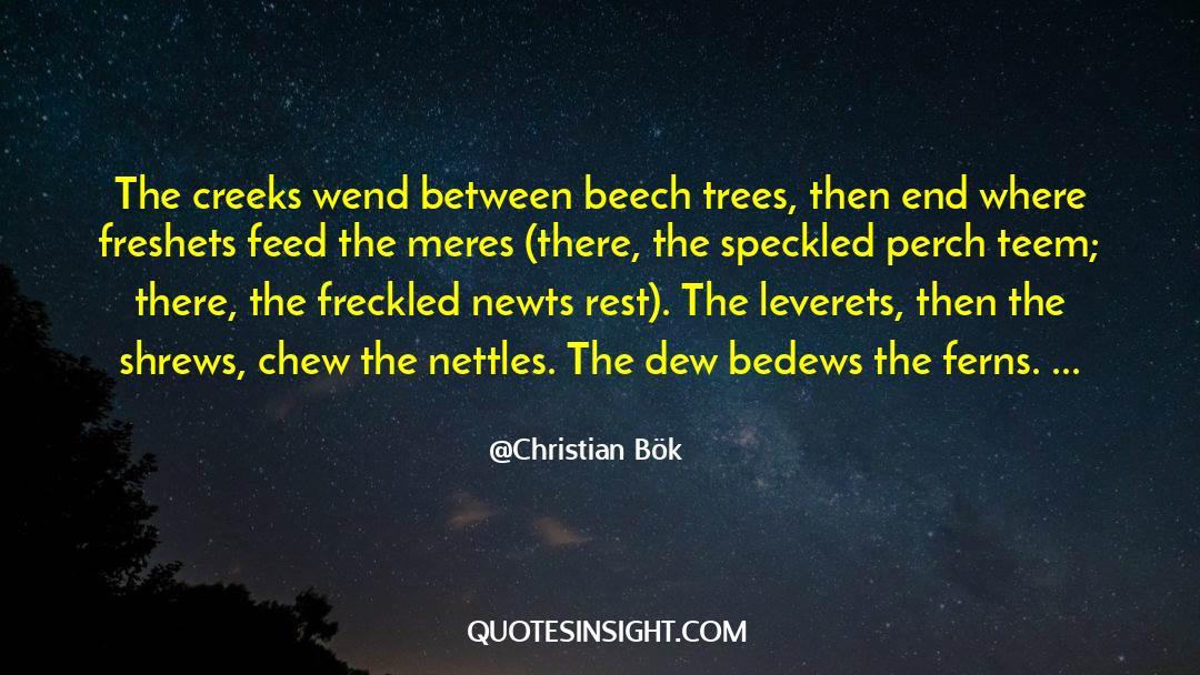 Shrews quotes by Christian Bök