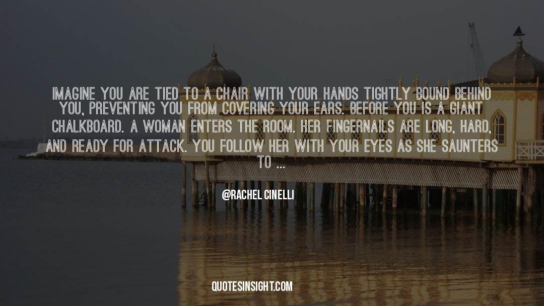 Shut In quotes by Rachel Cinelli