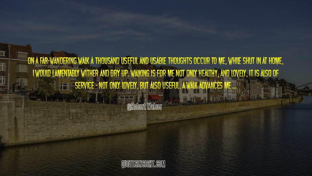 Shut In quotes by Robert Walser