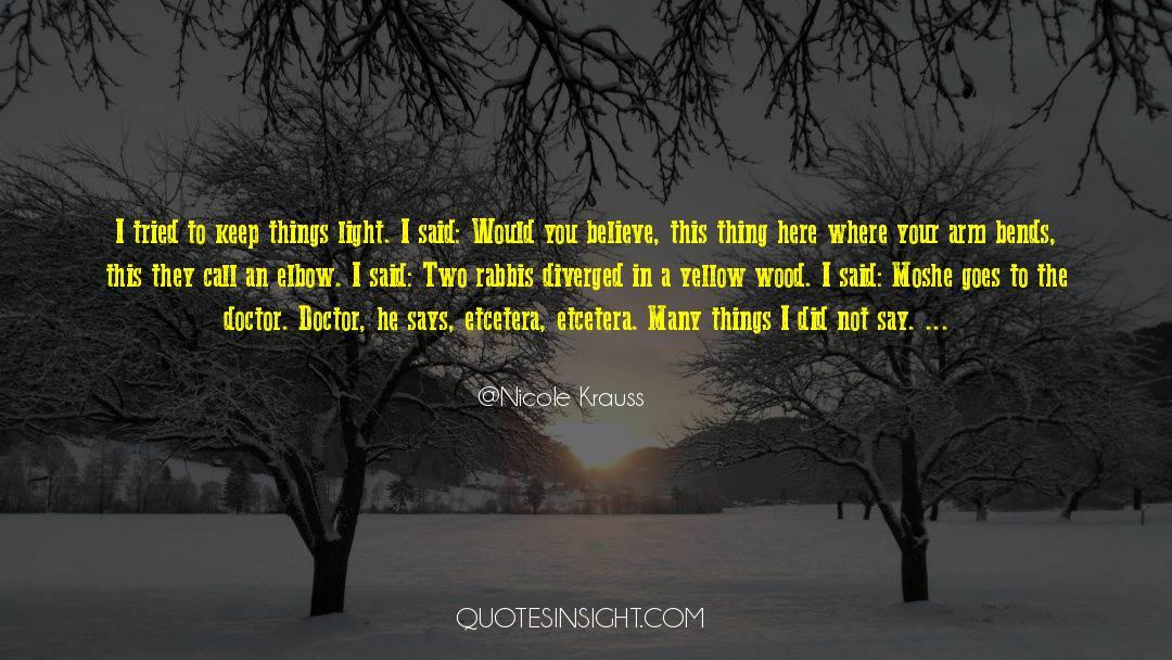 Shut In quotes by Nicole Krauss
