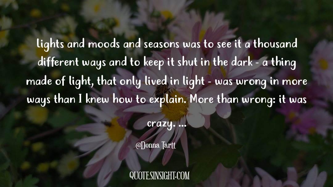 Shut In quotes by Donna Tartt