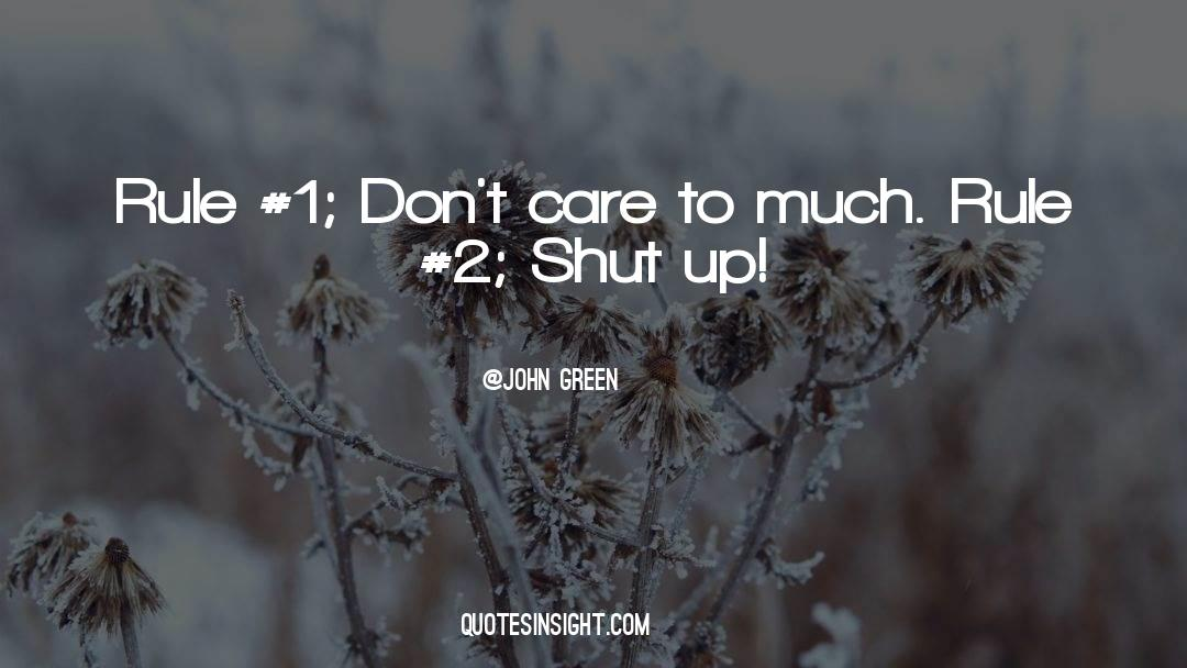 Shut In quotes by John Green