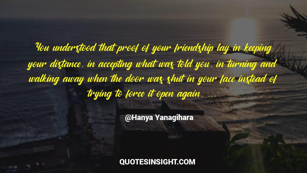 Shut In quotes by Hanya Yanagihara