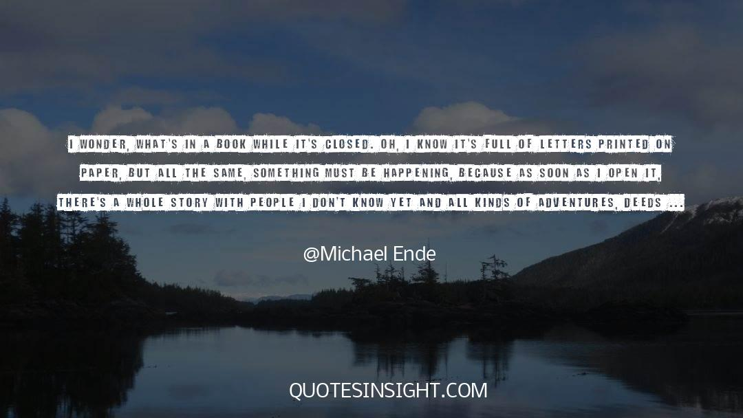 Shut In quotes by Michael Ende